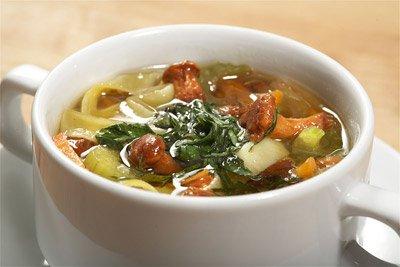Итальянский суп лапша