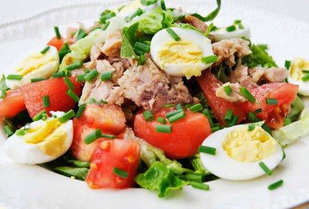 Салат с перепелиными яйцами и тунцом рекомендации