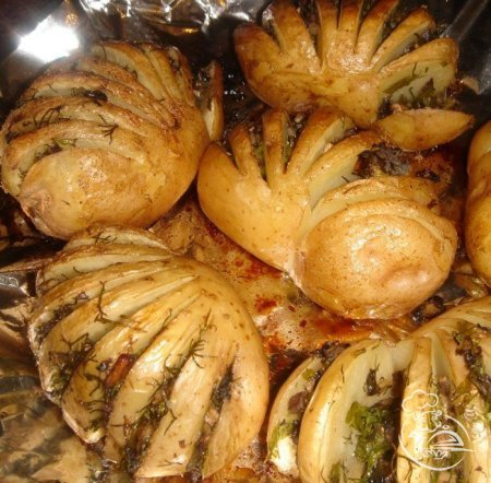рецепты молодой картошки в духовке с фото
