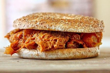 Гавайский куриный сэндвич