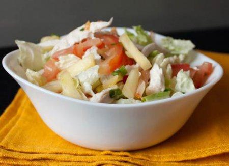 Овощной салат по – китайски