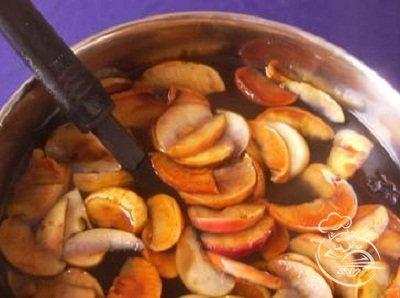 компот из яблок поваренок