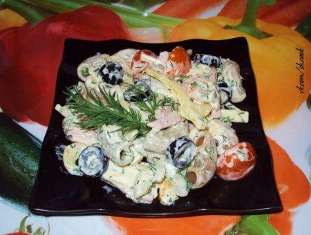 Рецепты салатов итальянской кухни с фото