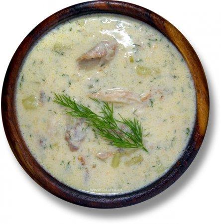 Суп с копчёной рыбой (Cullen Skink)