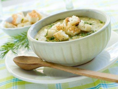 Фасолевый суп-пюре с пряностями
