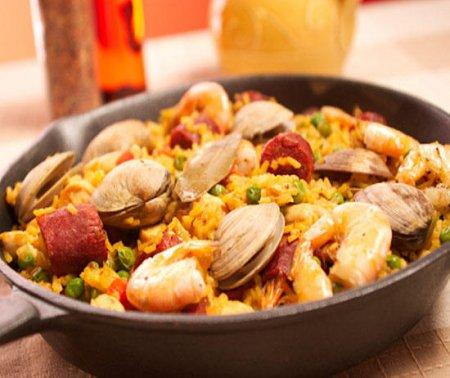 Паэлья с морепродуктами (Paella Marinera)