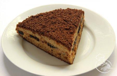 Торт с черносливом и шоколадом «Мулатка»
