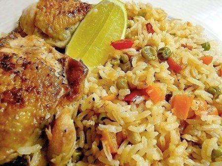 вторые блюда из риса рецепты с фото