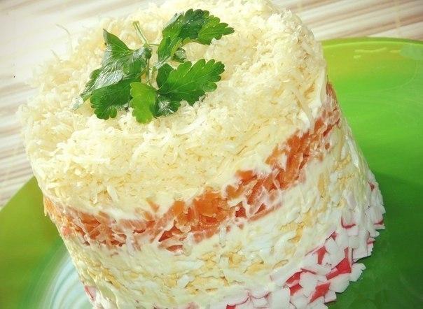 рецепты салатов с сыром и печенью