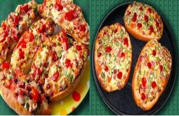 Постные бутерброды  Кулинарный рецепт с фото