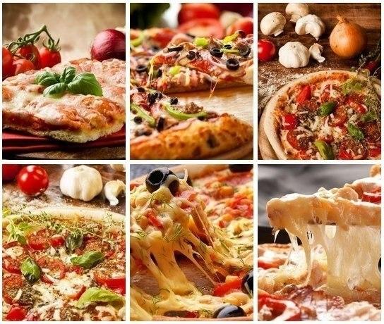 Очень вкусная пицца