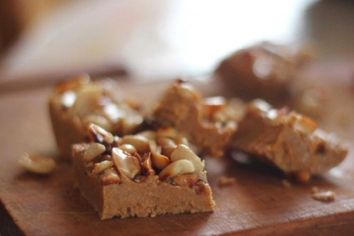 Карамельные конфеты с арахисом