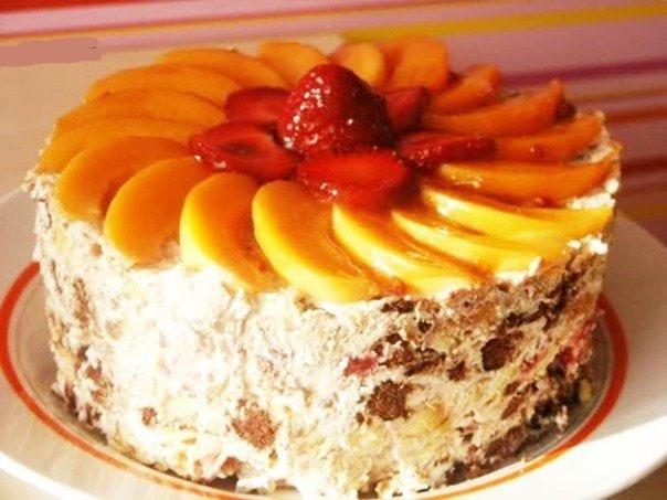 Творожные десерты торты