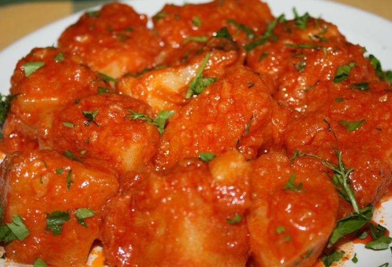 Картофель в томатном соусе в мультиварке  рецепты с фото
