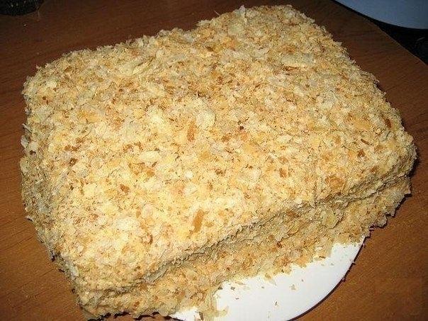 Рецепт торта наполеон вкусный рецепт