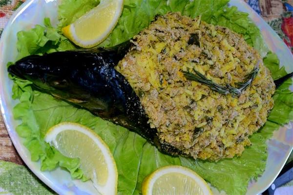 праздничная рыба в духовке рецепты с фото
