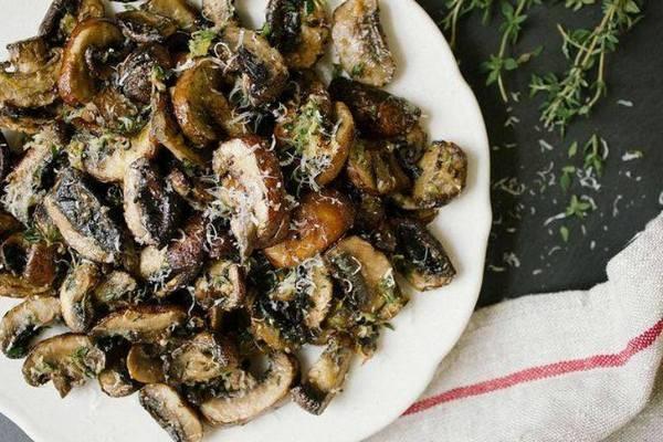 рецепт второе блюдо из грибов #9