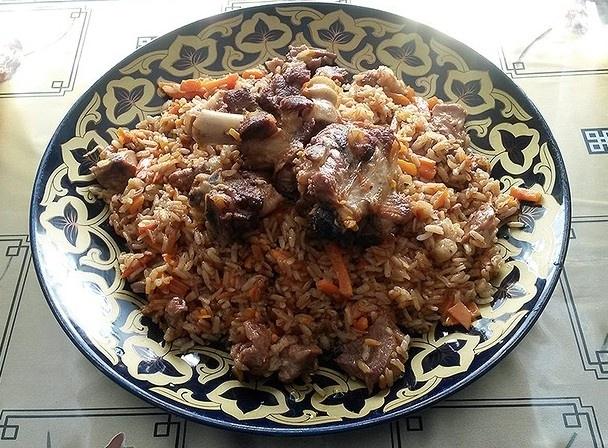 Ферганский плов (ВИДЕО) - «Второе блюдо»
