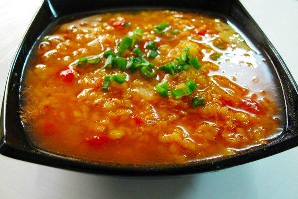 Ароматный суп с чечевицей в индийском стиле - «Первое блюдо»
