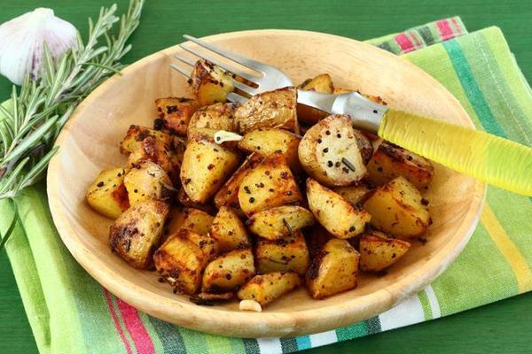 Пряный картофель в горчице - «Второе блюдо»