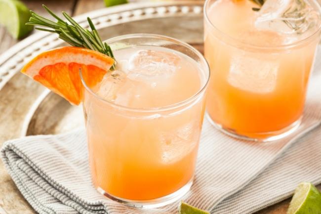 Коктейль Палома: свежесть и терпкость грейпфрута