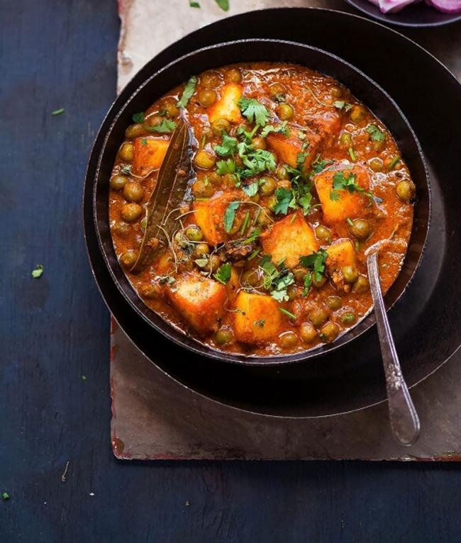 Сабджи: овощное рагу по-индийски - «Второе блюдо»