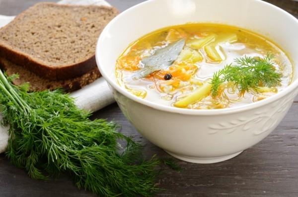 Суп «Согревающая диета»