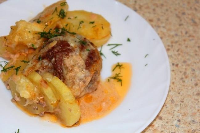 Блюдо из фарша на скорую руку - «Блюда из мяса»