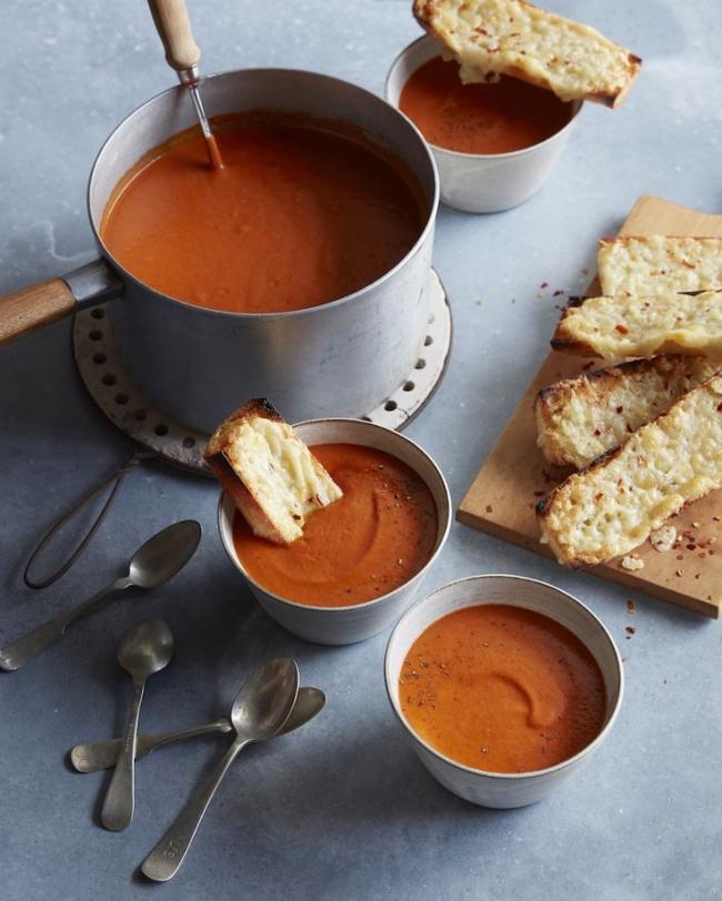Постный суп из красного перца