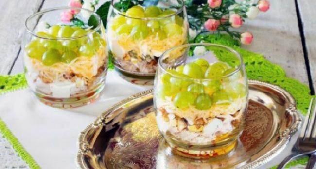 Французский низкокалорийный салат «Мадам»