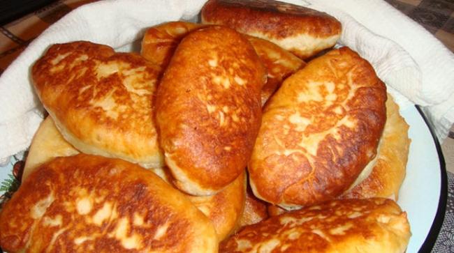Дрожжевые жареные пирожки с капустой (ВИДЕО)