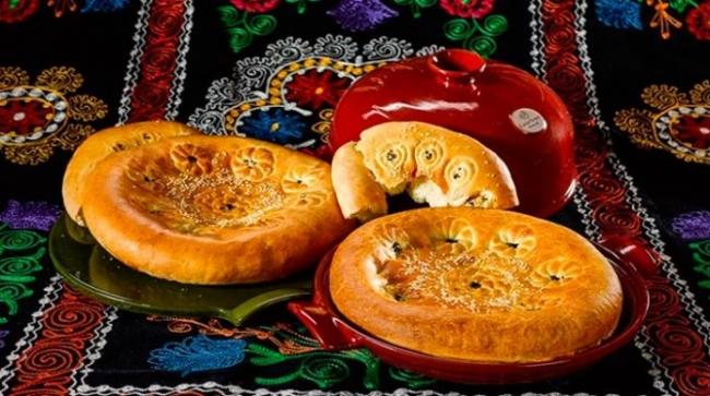 Узбекская лепешка в духовке
