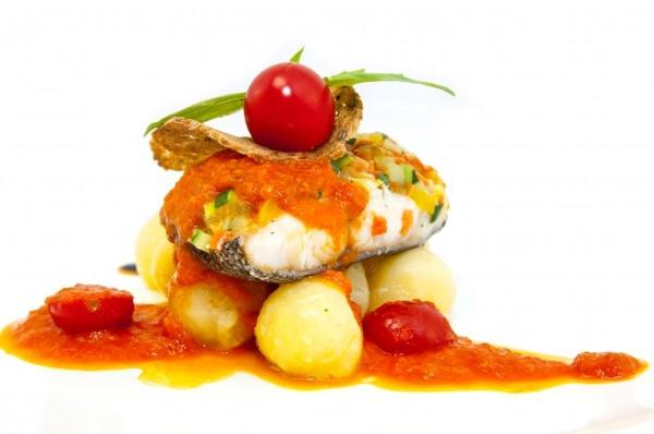 2 в 1: Рыба в маринаде со сладким перцем.