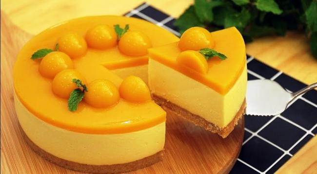 Чизкейк с манго.