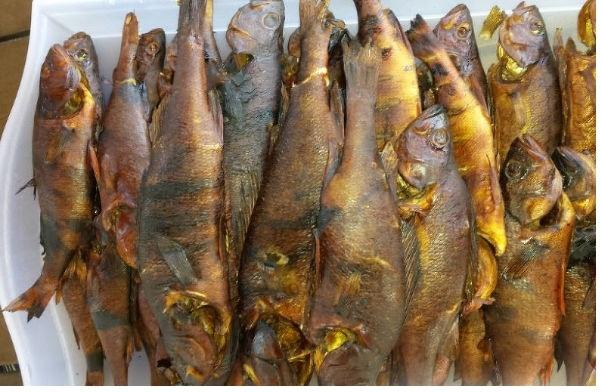 Вкуснейшая рыба горячего копчения