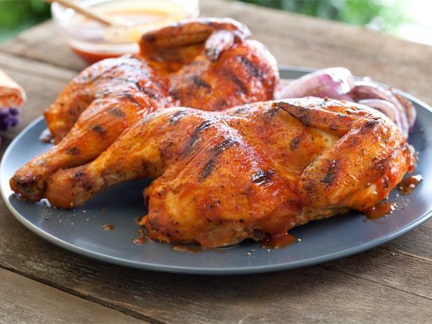 Курица в соусе барбекю