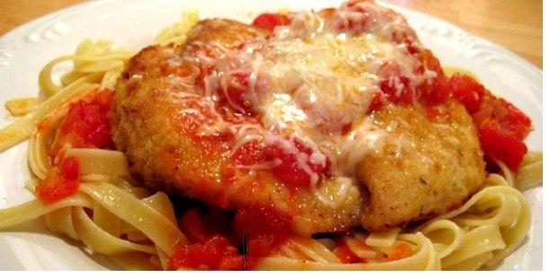 Итальянский цыпленок Пармезан