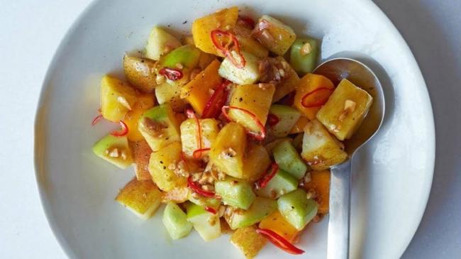 Острый фруктовый салат