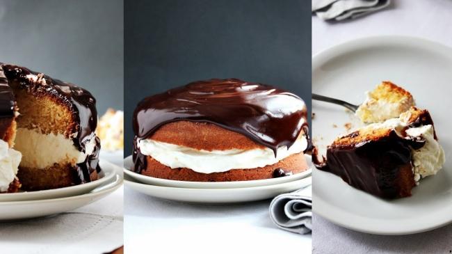Торт с имбирным кремом