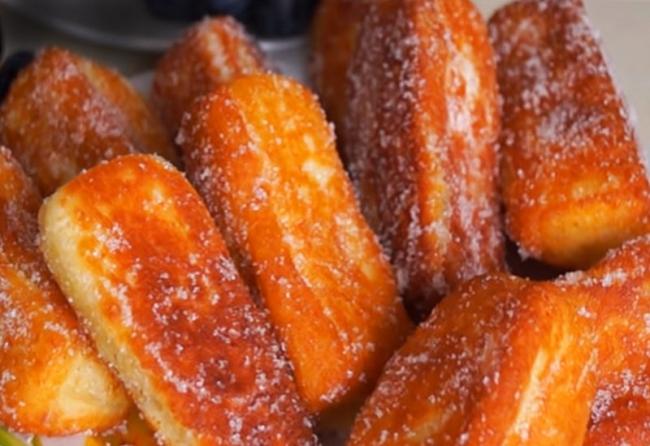 Пышные и вкусные творожные пончики за 20 минут