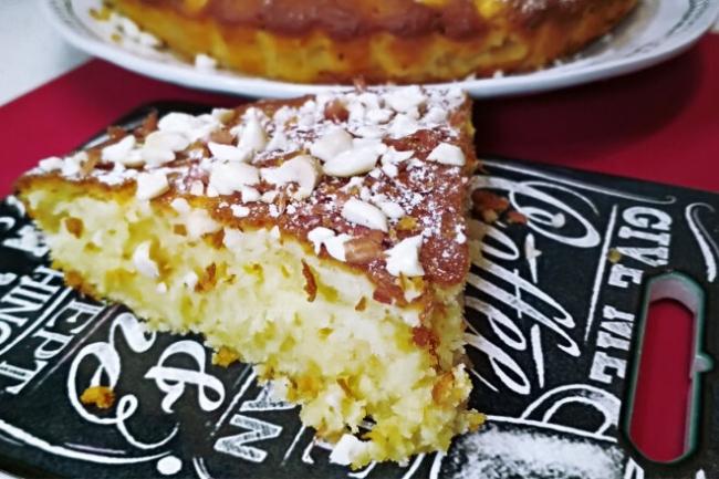 Лимонный пирог на сметане и сливочном масле