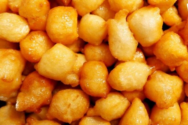 Пончики из муки и кефира жареные в масле