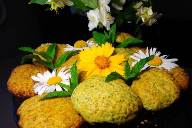 Мятное печенье на сливочном масле