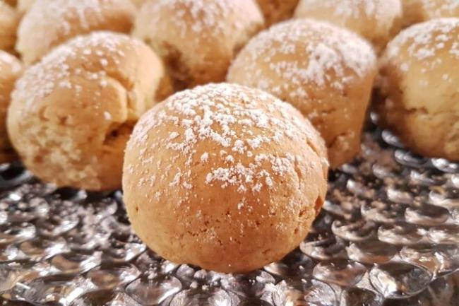 Сдобное печенье Медовые колобки с медом и корицей