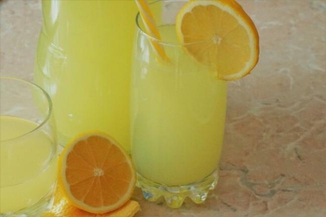Лимонад из лимонов с цедрой