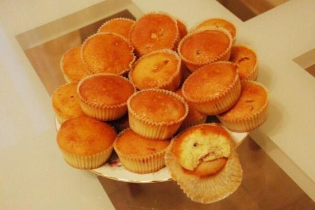 Диетические апельсиновые кексы без сахара