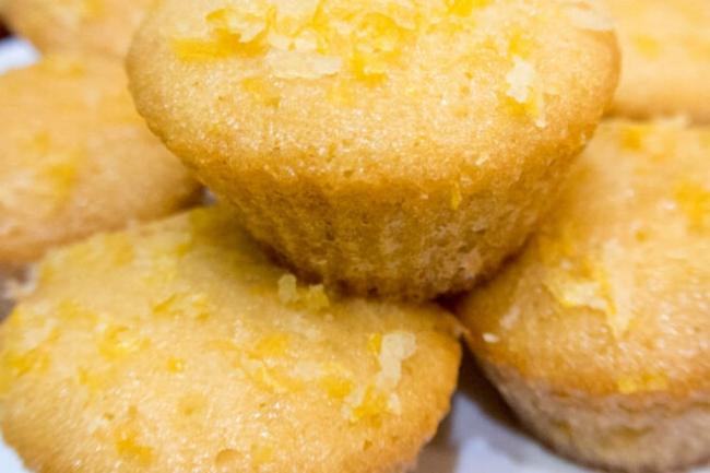 Кексы с лимонным сиропом