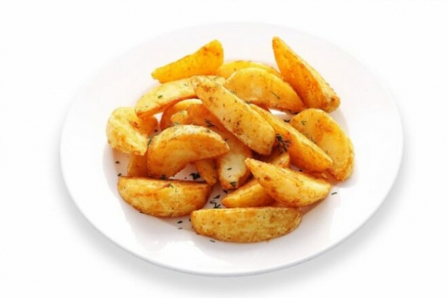 Картофель с паприкой в рукаве для запекания