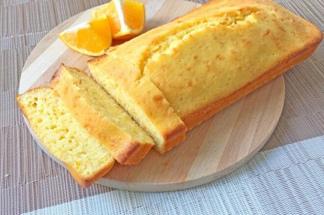 Апельсиновый кекс в духовке