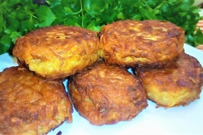Рыба в картофельной шубе на сковороде